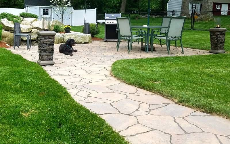 Hawkes Hardscape & Landscape Design - walkway and patio
