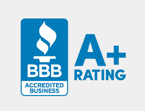C. Hawkes Landscaping Design & Construction Better Business Bureau A+ rating